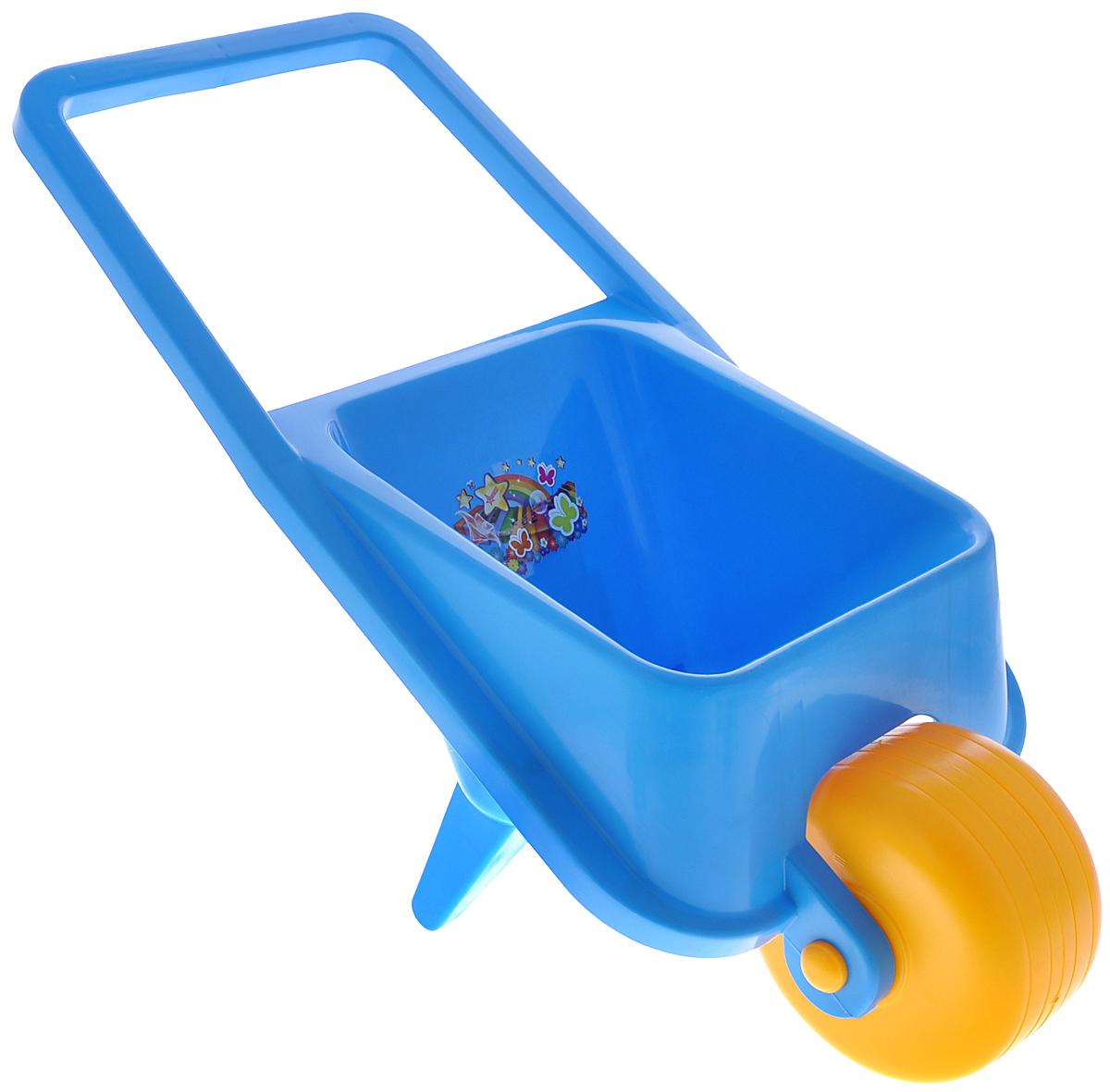 Нордпласт Тачка детская цвет голубой431726_голубойДетская одноколесная тачка Нордпласт, изготовленная из прочного безопасного яркого пластика, привлечет внимание вашего ребенка и поможет приучить его к труду. С этой игрушечной тачкой ваш малыш будет весело проводить время, подражая маме и папе. Производство детских игрушек компании Нордпласт осуществляется по проектам собственной дизайн-студии. К качеству используемых материалов, предъявляются самые высокие требования: как с точки зрения безопасности, так и с точки зрения прочности и устойчивости красителей, ведь эти игрушки предназначены не только для взрослых, но и для самых маленьких детей.