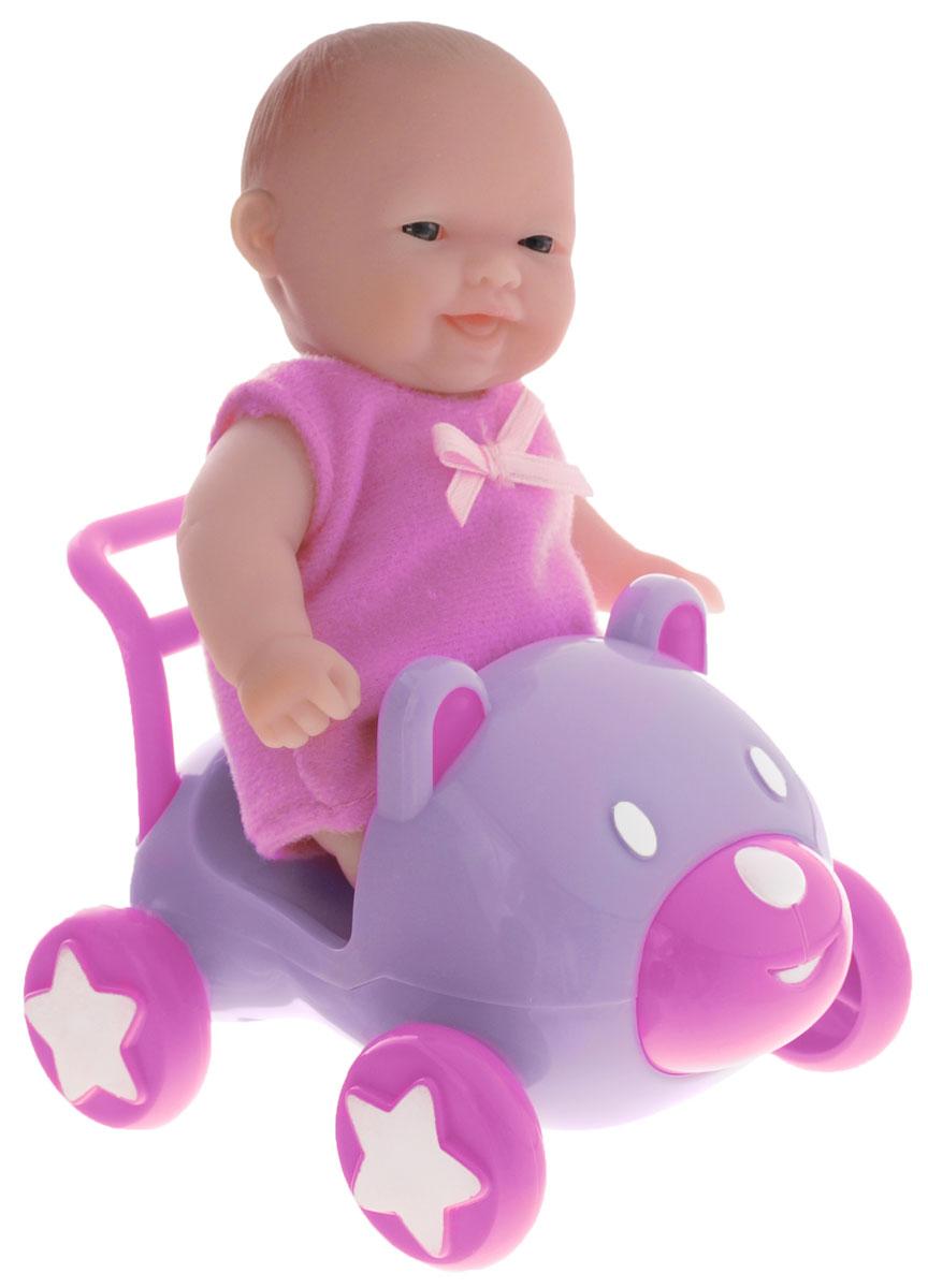 JC Toys Пупс в машинке