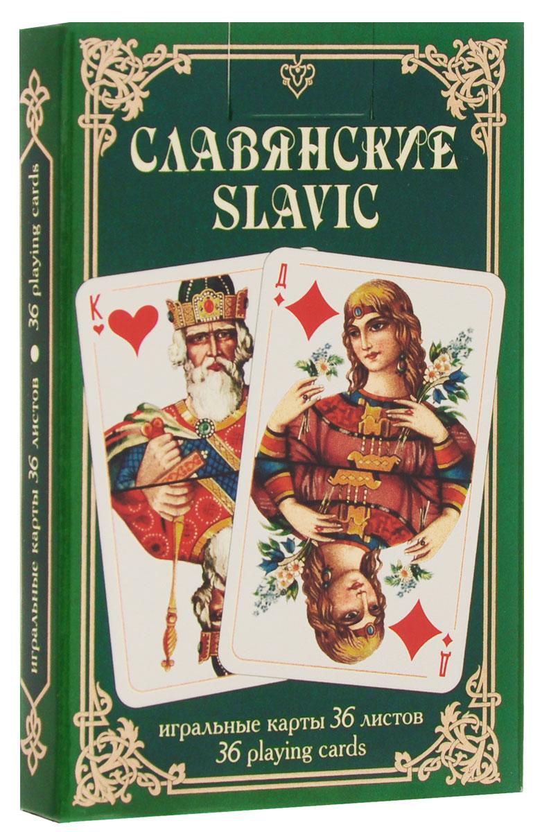 Карты игральные Piatnik Славянские, цвет: зеленый, 36 карт1342_зеленыйИгральные карты Piatnik Славянские с изображением на рубашке картины Васнецова Витязь на распутье выполнены из картона, имеют гладкую поверхность и подходят для многих карточных игр. В комплекте 36 карт.