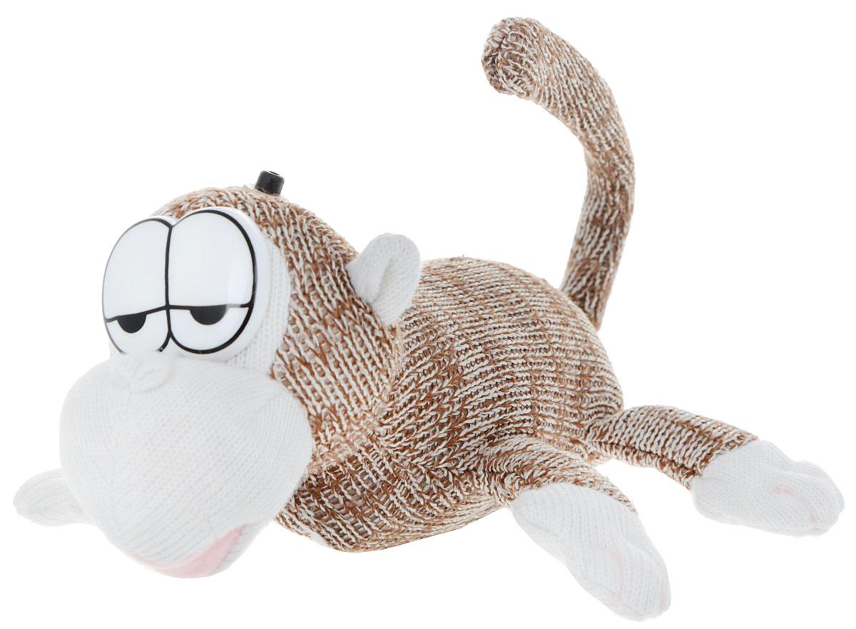 Chericole Интерактивная мягкая игрушка Обезьянка цвет коричневый