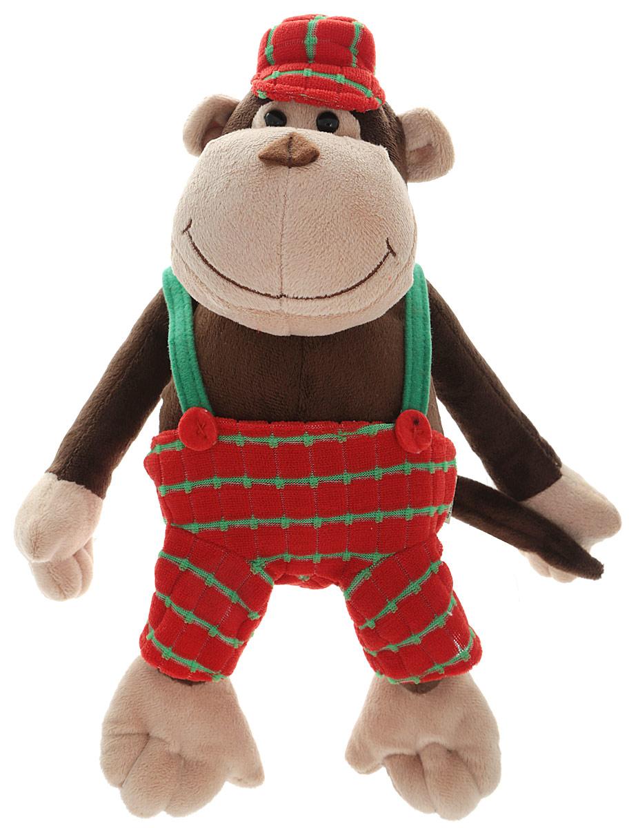 Gulliver Мягкая игрушка Обезьянка Мартин 21 см52-V41887-21EМягкая игрушка Gulliver Обезьянка Мартин принесет радость и подарит своему обладателю мгновения нежных объятий и приятных воспоминаний. Игрушка очень похожа на своего живого прототипа. Одет Мартин в яркие брючки и кепку. Глаза выполнены из пластика, мордочка обезьянки имеет уплотненную форму, что придает ей естественный вид. Игрушка изготовлена из экологически чистых материалов. Великолепное качество исполнения делают эту игрушку чудесным подарком к любому празднику, как для ребенка, так и для взрослых.