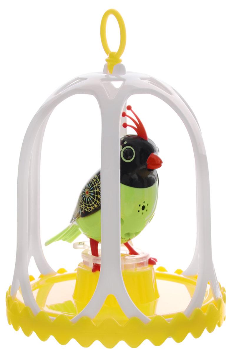 DigiBirds Интерактивная игрушка Птичка Carousal в клетке 88295S