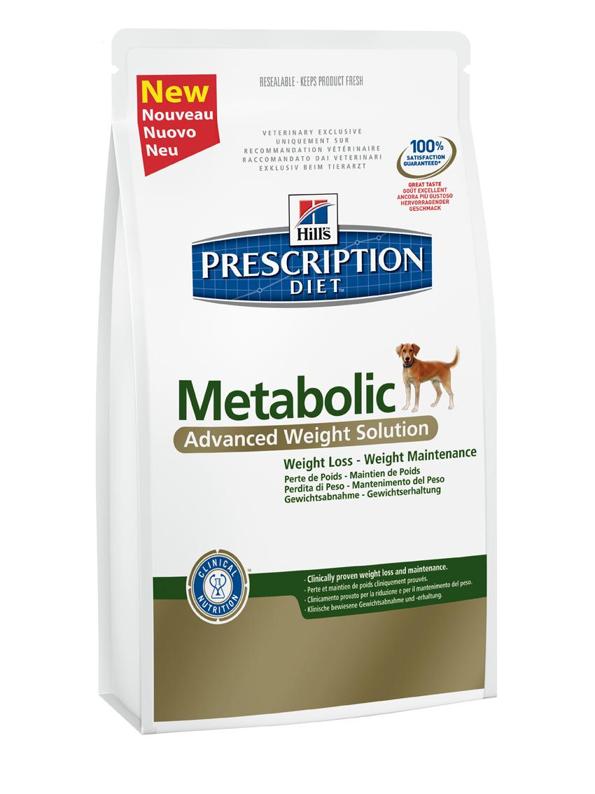 Сухой корм для собак Hills Prescription Diet Metabolic Canine Advanced Weight Solution диета для коррекции веса 1,5кг, пакет2097Осуществляя покупку, я подтверждаю, что осведомлен о необходимости получения рекомендации ветеринарного специалиста не реже, чем раз в 6 месяцев для применения данного рациона. Рекомендуется • Собаки с избыточным весом или ожирением • Поддержание веса после его снижения Не рекомендуется • Кошки • Щенки • Беременные и лактирующие суки Ингредиенты сухого рациона Пшеница, мука из мяса домашней птицы, мука из кукурузного глютена, кукуруза, мука из гороховых отрубей, целлюлоза, выжимка томата, гидролизат белка, льняное семя, мякоть свеклы, животный жир, кокосовое масло, минералы, мякоть цитрусовых, порошок из шпината, выжимки винограда, DL-метионин, L-лизин, липоевая кислота, дегидратированная морковь, L-карнитин, витамины, таурин, микроэлементы и бета-каротин. Натуральные антиоксиданты - смесь токоферолов. СРЕДНЕЕ СОДЕРЖАНИЕ НУТРИЕНТОВ В рационе Протеин 26,0 % Жиры 11,4 % Углеводы (БЭВ) 35,0 % Клетчатка (общая) 13,4 % Влага 8,5 % Кальций 0,84 % Фосфор 0,63 % Натрий 0,33 % Калий...