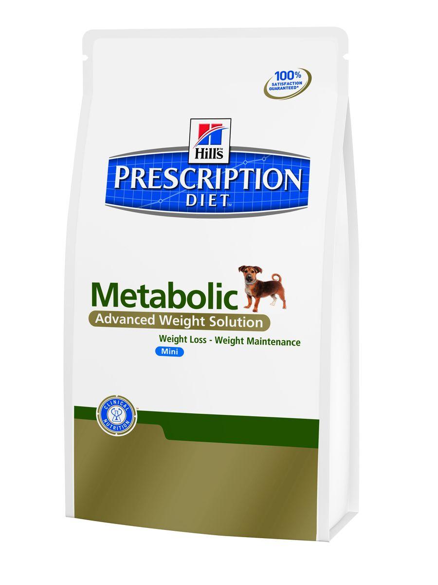 Сухой корм для собак мелких пород Hills Prescription Diet Metabolic Canine Mini Advanced Weight Solution диета для коррекции веса 1,5кг, пакет3353Осуществляя покупку, я подтверждаю, что осведомлен о необходимости получения рекомендации ветеринарного специалиста не реже, чем раз в 6 месяцев для применения данного рациона. Рекомендуется • Собаки миниатюрных пород с избыточным весом или ожирением • Поддержание веса после его снижения Не рекомендуется • Кошки • Щенки • Беременные и лактирующие суки Рацион Metabolic - революционный прорыв в питании для успешной программы снижения веса, клинически доказанно обеспечивает безопасное снижение и поддержание веса у собак. 96 % собак успешно снизили вес в домашних условиях. Ингредиенты: Пшеница, мука из курицы и индейки, мука из кукурузного глютена,кукуруза, мука из гороховых отрубей, кукуруза, целлюлоза, выжимки томата, гидролизат белка, льняное семя, животный жир, мякоть свеклы, мякоть цитрусовых, порошок из шпината, виноградные выжимки, кокосовое масло, минералы, DL-метионин, липоевая кислота, L-лизин, дегидратированная морковь, L-карнитин, витамины, таурин, микроэлементы,...