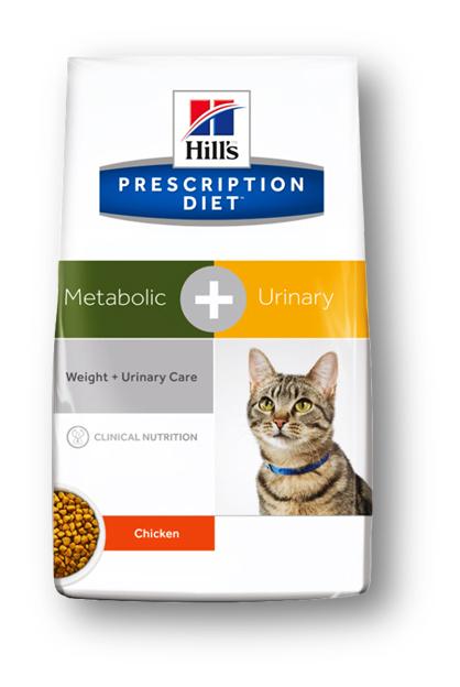 Корм сухой диетический Hills Metabolic + Urinary Feline, для кошек, для снижения веса и растворения струвитов, с курицей, 250 г10042Осуществляя покупку, я подтверждаю, что осведомлен о необходимости получения рекомендации ветеринарного специалиста не реже, чем раз в 6 месяцев для применения данного рациона. Рекомендуется • На начальном этапе у кошек с любым типом заболевании? нижних отделов мочевыводящих путеи?, в том числе кристаллуриеи? и/или уролитиазом любого генеза, уретральными пробками и идиопатическим циститом кошек. • Расстворение стерильных струвитных уролитов • Для долговременного использования для кошек, склонных к: o Образованию струвитных кристаллов и уролитов, кристаллов и уролитов кальция оксалата и кальция фосфата (снижение появления и частоты рецидивов). o Формированию уретральных пробок (почти всегда вызванных кристаллами струвита или кальция фосфата). o Идиопатическому циститу кошек (ИЦК) И • Набору избыточного веса и ожирению • Для поддержания веса после его снижения Не рекомендуется • Собакам • Котятам • Беременным и кормящим кошкам Ингредиенты сухого рациона Курица: Курица (26%) и мука...
