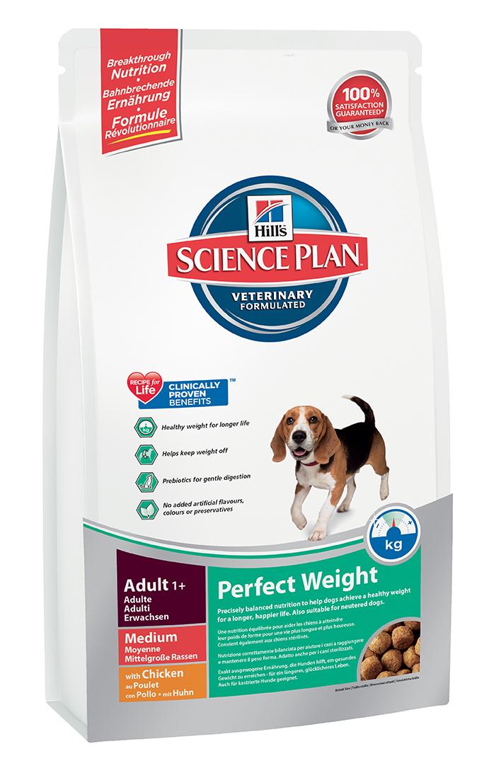 Корм сухой Hills Canine Medium Adult 1+ Perfect Weight для собак средних пород, 10 кг3667Рекомендуется • Взрослым собакам старше 1 года, склонным к набору веса или, страдающим ожирением в легкой степени (т.е. собакам, наименее активным, стерилизованным или склонным к набору веса по другим причинам). Не рекомендуется • Кошкам. • Щенкам. • Беременным и кормящим животным. В течение беременности и лактации рекомендуется перевести суку на полноценный рацион для щенков Science PlanTM Puppy Healthy DevelopmentTM Large Breed). Ингредиенты сухого рациона Пшеница, мука из кукурузного глютена, кукуруза, курица (16%) и мука из индейки, мука из гороховых отрубей, целлюлоза, томатные выжимки, гидролизат белка, животный жир, льняное семя, высушенная мякоть сахарной свеклы, кокосовое масло, минералы, L-лизин, высушенная морковь, липоевая кислота, L-карнитин, витамины, таурин, микроэлементы и бета-каротин. С натуральным антиоксидантом (смесь токоферолов). СРЕДНЕЕ СОДЕРЖАНИЕ НУТРИЕНТОВ В рационе Протеин 25,9 % Жиры 11,5 % Углеводы (БЭВ) 36,8 % Клетчатка (общая) 12,1 % Влага 8,5 %...