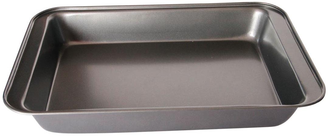 Противень Bekker BK-3997BK-399742,8*28,5*5см, корпус 0,4мм, антиприг. покрытие Goldflon . Состав: углеродистая сталь.