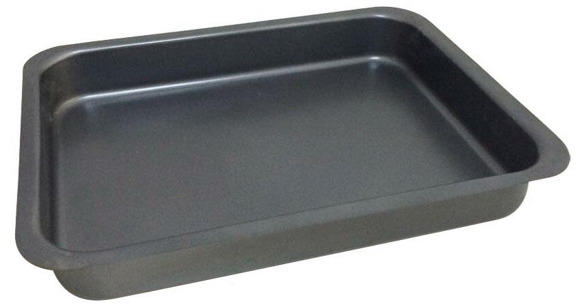 Противень BK-3999BK-399928*22*5,6см, корпус 0,6мм, антиприг. покрытие Goldflon . Состав: углеродистая сталь.