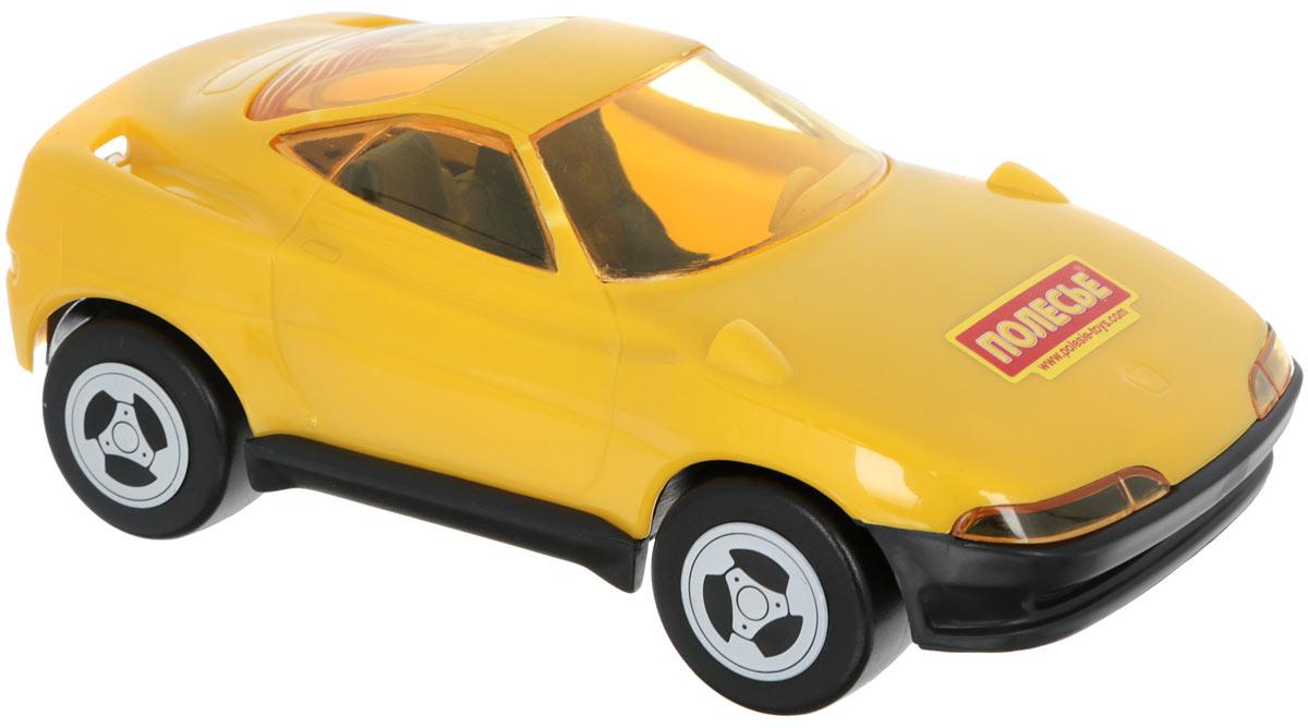 Полесье Машинка Мустанг цвет желтый841_желтыйМашинка Полесье Мустанг понравится вашему малышу. Игрушка выполнена из высококачественного полистирола и оснащена четырьмя колесиками со свободным ходом. Сквозь полупрозрачные стекла ребенок сможет разглядеть салон машинки. Такая игрушка способствует развитию у малыша тактильных ощущений, мелкой моторики рук и координации движений.