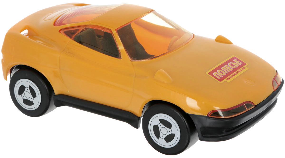 Полесье Машинка Мустанг цвет оранжевый841_оранжевыйМашинка Полесье Мустанг понравится вашему малышу. Игрушка выполнена из высококачественного полистирола и оснащена четырьмя колесиками со свободным ходом. Сквозь полупрозрачные стекла ребенок сможет разглядеть салон машинки. Такая игрушка способствует развитию у малыша тактильных ощущений, мелкой моторики рук и координации движений.