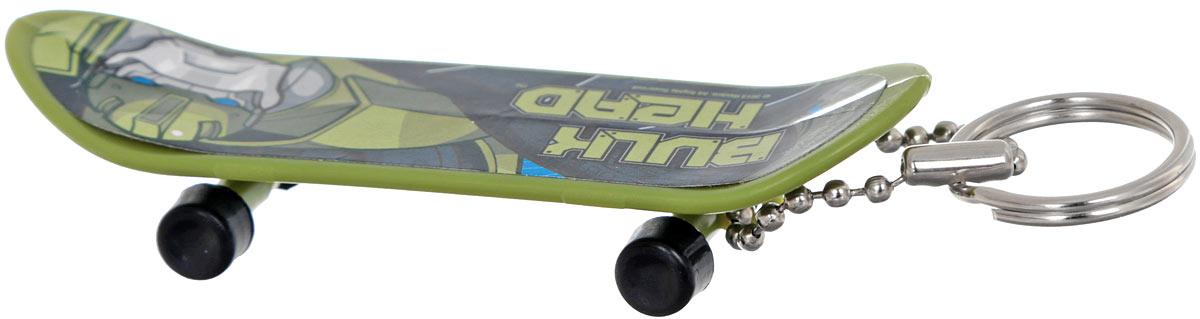 Amscan Брелок Скейтборд Трансформеры Bulk Head1507-0894_зеленыйБрелок Amscan Скейтборд Трансформеры: Bulk Head для рюкзака или ключа станет отличным подарком для всех поклонников Трансформеров! Брелок выполнен в форме скейтборда и украшен изображением одного из героев вселенной Трансформеров. Колесики брелока-скейтборда крутятся. Длина брелока: 8 см.
