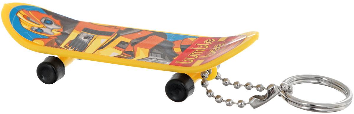 Amscan Брелок Скейтборд Трансформеры Bumble Bee1507-0894_желтыйБрелок Amscan Скейтборд Трансформеры: Bumble Bee для рюкзака или ключа станет отличным подарком для всех поклонников Трансформеров! Брелок выполнен в форме скейтборда и украшен изображением одного из героев вселенной Трансформеров. Колесики брелока-скейтборда крутятся. Длина брелока: 8 см.