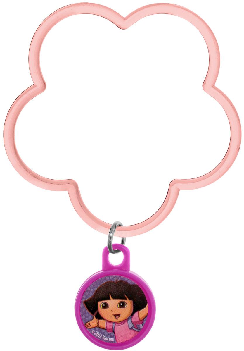 Веселая затея Браслет с подвеской Даша-путешественница цвет розовый1501-2346Яркий браслет с подвеской Веселая затея Даша-путешественница выполнен из пластика розового цвета в виде цветочка с подвеской, на которой изображен один из героев мультфильма Даша-путешественница. Этот аксессуар непременно понравится вашей маленькой моднице. Порадуйте ее таким замечательным подарком!