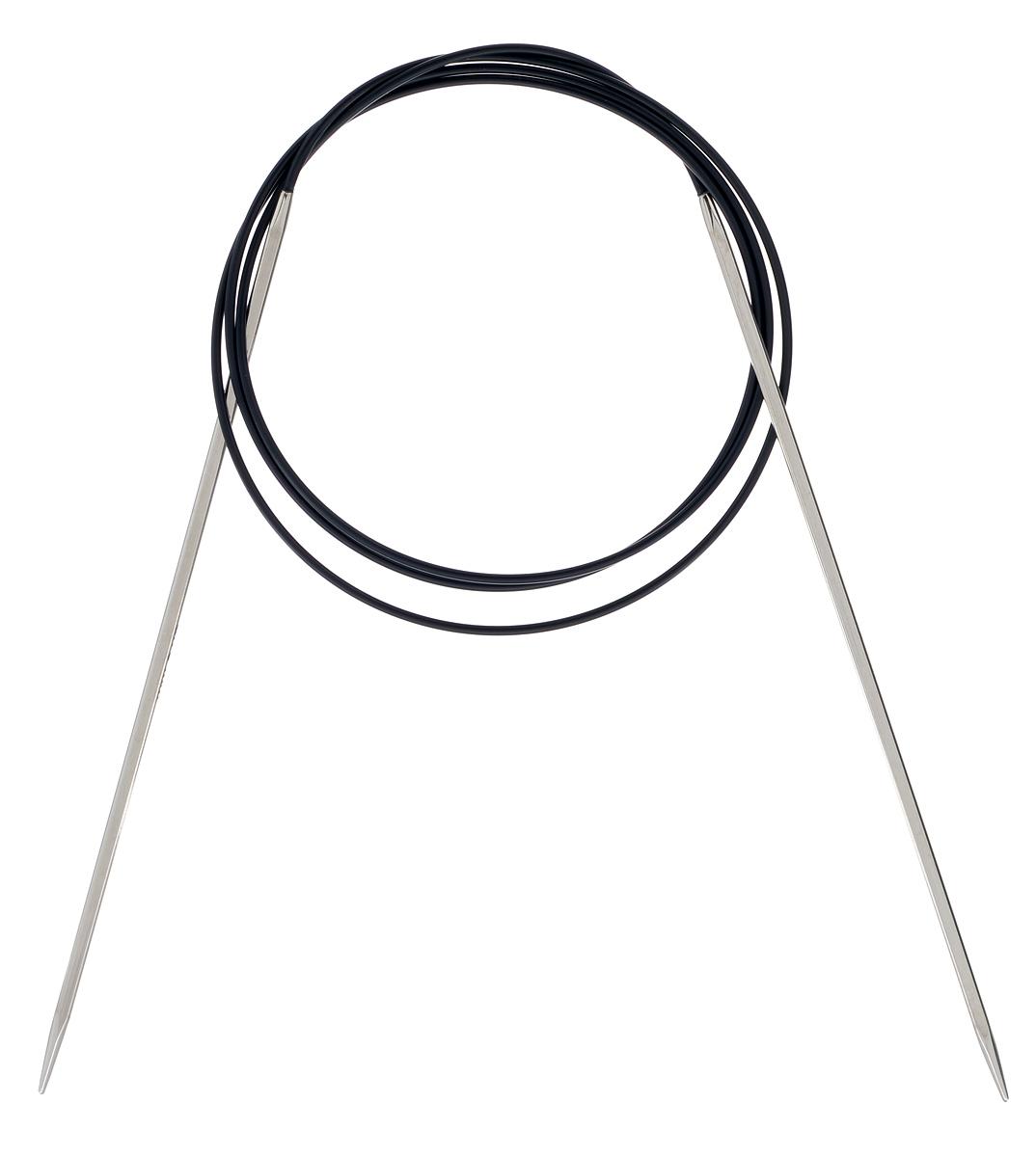 Спицы круговые KnitPro Nova Cubics, диаметр 2,75 мм, длина 100 см12212Круговые спицы для вязания KnitPro Nova Cubics изготовлены из никеля с инновационным латунным покрытием, наносимым гальваническим путем. Спицы квадратные, с закругленными кончиками. Скреплены гибким пластиковым шнуром. Они прочные, легкие, удобны в использовании. Гладкая как шелк поверхность спиц позволит вам часами наслаждаться вязанием. Круговые спицы предназначены для выполнения деталей и изделий, не имеющих швов. Короткими круговыми спицами вяжут бейки горловины, воротники-гольф, длинными спицами можно вязать по кругу целые модели. Вы сможете вязать для себя, делать подарки друзьям. Рукоделие всегда считалось изысканным, благородным делом. Работа, сделанная своими руками, долго будет радовать вас и ваших близких.
