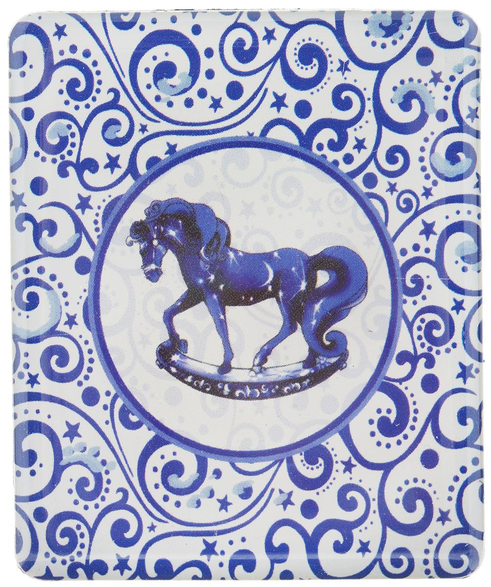 Магнит Феникс-Презент Magic Time, 6 x 5 см 3150331503Магнит прямоугольной формы Феникс-Презент Magic Time, выполненный из агломерированного феррита, станет приятным штрихом в повседневной жизни. Оригинальный магнит, декорированный изображением лошадки, поможет вам украсить не только холодильник, но и любую другую магнитную поверхность. Материал: агломерированный феррит.