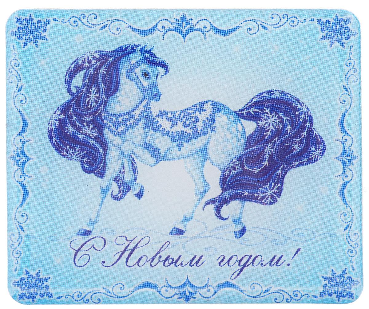 Магнит Феникс-Презент Magic Time, 6 x 5 см31508Магнит Прямоугольной формы Феникс-презент Magic Time, выполненный из агломерированного феррита, станет приятным штрихом в повседневной жизни. Оригинальный магнит, декорированный изображением лошади, поможет вам украсить не только холодильник, но и любую другую магнитную поверхность. Материал: агломерированный феррит.