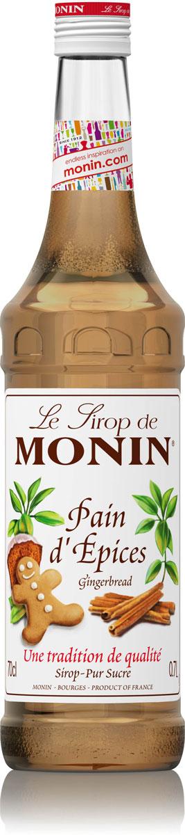 Monin Имбирный Пряник сироп, 0,7 л