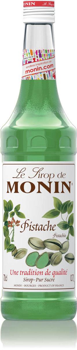 Monin Фисташки сироп, 0,7 лSMONN0-000058Фисташки имеют нежный, тонкий вкус, который замечателен и для того, чтобы поесть, и для ароматизации сладких и соленых блюд. Одно из самого популярного использования фисташек - фисташковое мороженое. Сироп Monin Фисташки позволяет легко наслаждаться подлинным снисходительным вкусом фисташек в специальных кофейных напитках и коктейлях. Сиропы Monin выпускает одноименная французская марка, которая известна как лидирующий производитель алкогольных и безалкогольных сиропов в мире. В 1912 году во французском городке Бурже девятнадцатилетний предприниматель Джордж Монин основал собственную компанию, которая специализировалась на производстве вин, ликеров и сиропов. Место для завода было выбрано не случайно: город Бурже находился в непосредственной близости от крупных сельскохозяйственных районов - главных поставщиков свежих ягод и фруктов. Производство сиропов стало ключевым направлением деятельности компании Monin только в 1945 году, когда пост главы предприятия...