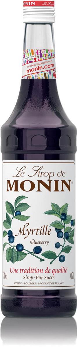Monin Черника сироп, 0,7 лSMONN0-000073Обладая бархатистым рубиновым цветом, сироп Monin Черника имеет сладкий вкус и аромат черники с легкой кислинкой. Отлично подходит для коктейлей, газированных напитков, лимонадов, и фруктовых пуншей. Сиропы Monin выпускает одноименная французская марка, которая известна как лидирующий производитель алкогольных и безалкогольных сиропов в мире. В 1912 году во французском городке Бурже девятнадцатилетний предприниматель Джордж Монин основал собственную компанию, которая специализировалась на производстве вин, ликеров и сиропов. Место для завода было выбрано не случайно: город Бурже находился в непосредственной близости от крупных сельскохозяйственных районов - главных поставщиков свежих ягод и фруктов.