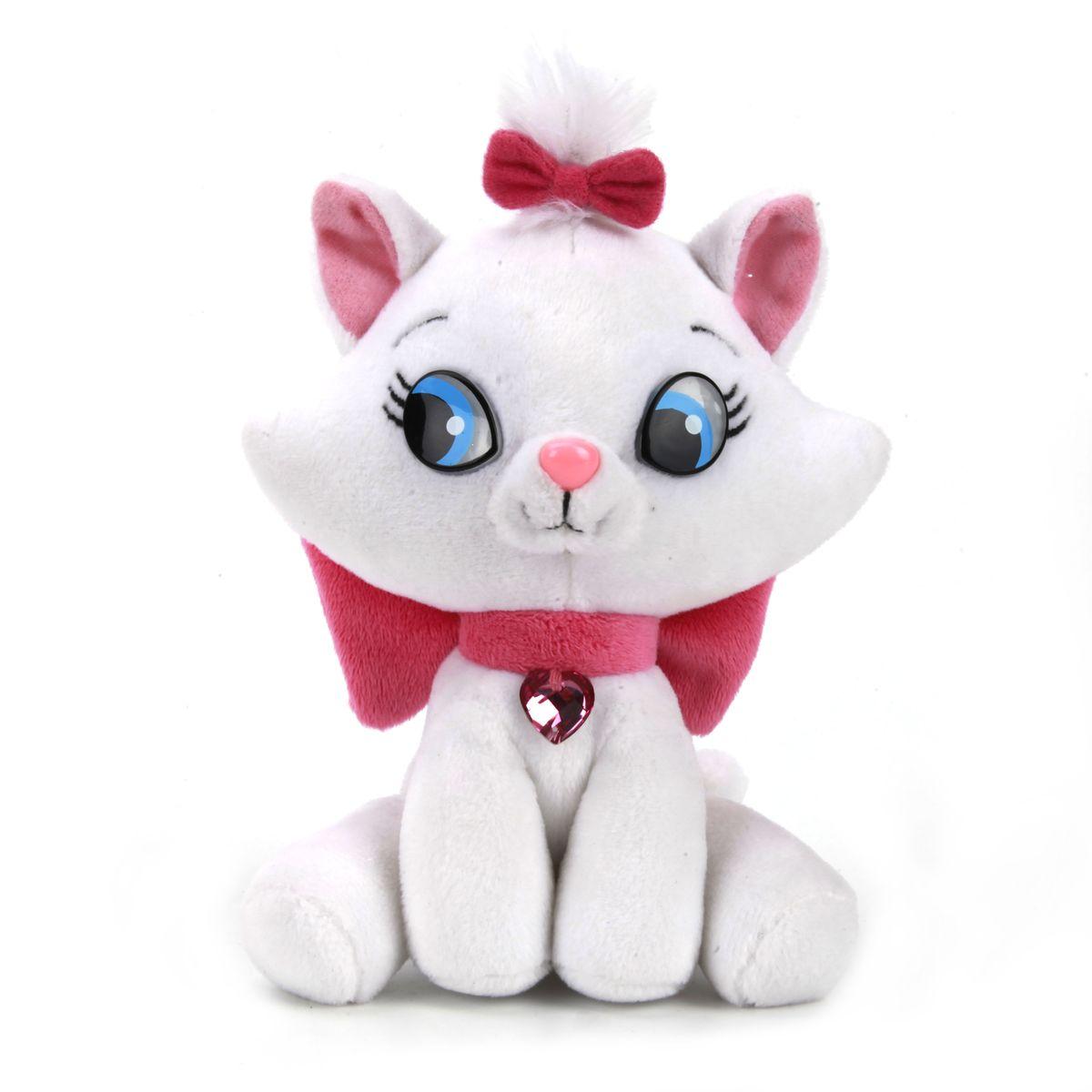 Мульти-Пульти Мягкая игрушка Disney Кошка мэриV27826/15Чудесная заяц, дизайн которой был разработан в студии Дисней. У нее добрая улыбка и улыбчивые глаза. Красотка-кошечка очень ловкая! Она учит детей заботе и бережному отношению к животным, ведь такую милую крошку просто невозможно обидеть! Игрушка сделана из качественных материалов, поэтому будет радовать вашего малыша максимально долгий скрок. Озвученая.