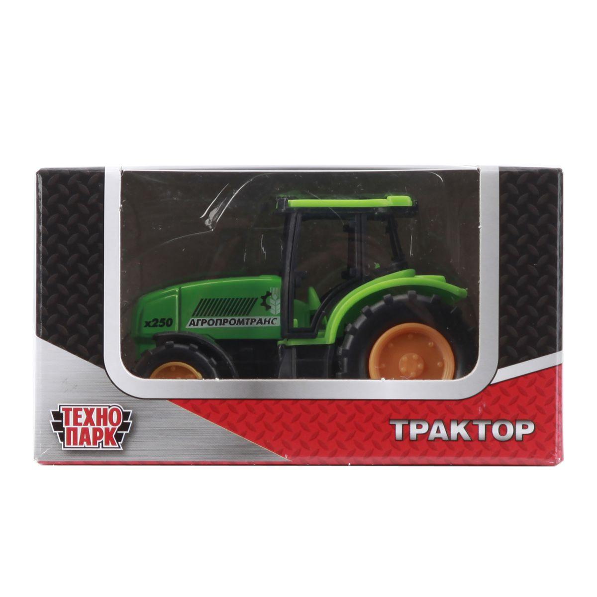 ТехноПарк Трактор Агпромтранс цвет зеленый ( 20119-R )