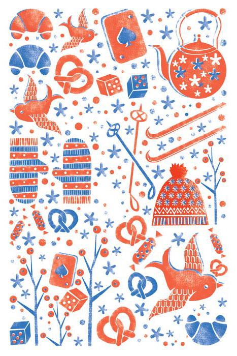 Открытка Зимние каникулы. Автор Екатерина ГорбачеваGbE10-007Оригинальная дизайнерская открытка Зимние каникулы выполнена из плотного матового картона. На лицевой стороне расположена репродукция картины художницы Екатерины Горбачевой с графическими элементами на тему зимнего отдыха. Красочная открытка отличается высоким качеством печати, она поможет вам выразить свои чувства и передать теплое новогоднее поздравление. Такая открытка станет великолепным дополнением к новогоднему подарку или оригинальным почтовым посланием, которое, несомненно, удивит получателя своим дизайном и подарит приятные воспоминания.