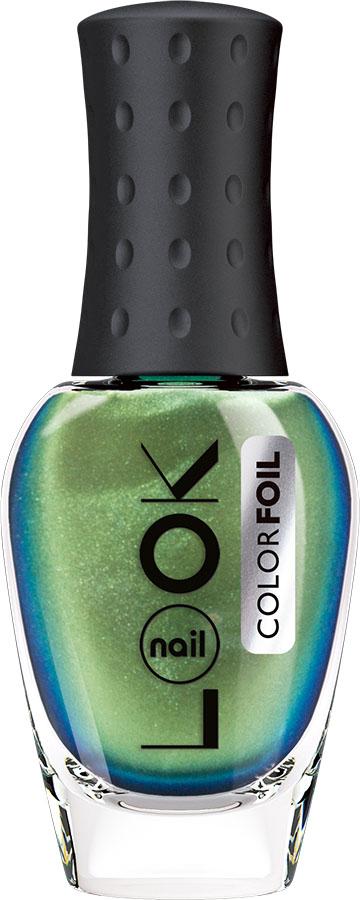 nailLOOK Лак для ногтей Color Foil, изумрудный, 8,5 мл31355винтажный изумрудный оттенок