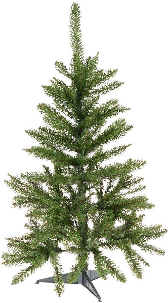 Ель Kingswood высота 91 см, цвет: зеленый31HKW730Искусственная елка Kingswood, выполненная их ПВХ - прекрасный вариант для оформления интерьера к Новому году. Ветки елки достаточно толстые, что позволяет им не гнуться и не прогибаться под тяжестью игрушек, легко и быстро распушаются - каждая по отдельности. Иголки не осыпаются, не мнутся, со временем не выцветают. Сказочно красивая новогодняя елка украсит интерьер вашего дома и создаст теплую и уютную атмосферу праздника. Откройте для себя удивительный мир сказок и грез. Почувствуйте волшебные минуты ожидания праздника, создайте новогоднее настроение вашим дорогим и близким.