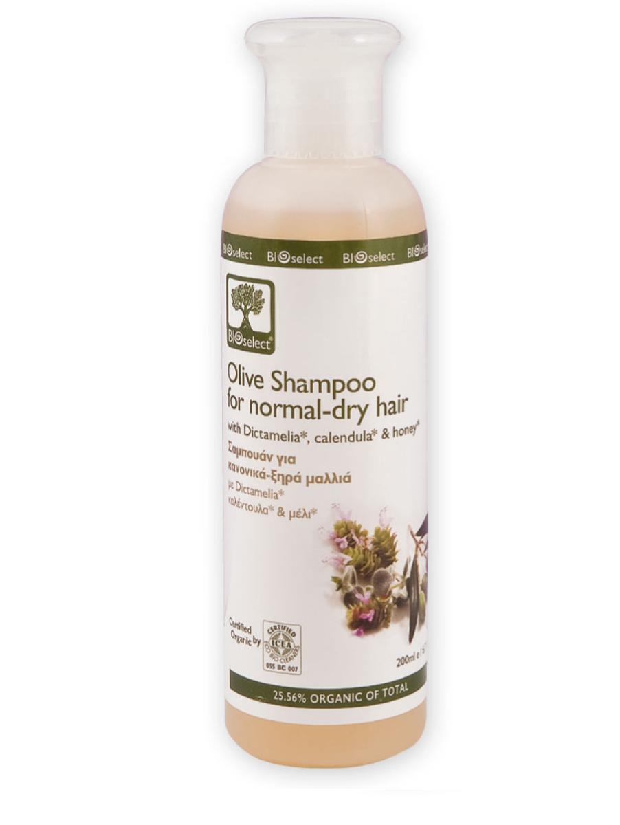 BIOselect Шампунь для нормальных и сухих волос, 200 мл5200306431132Натуральный состав шампуня для бережной очистки и ухода за сухими волосами- биоразлагаемые моющие и очищающие компоненты шампуня (без примеси лаурилсульфат натрия (SLS), он же SLES), не вызывают раздражение кожи. Диктамелия и мед питают и увлажняют волосы и кожу головы. А экстракт календулы и вода шалфея придают блеск и питают волосы от корней до кончиков.