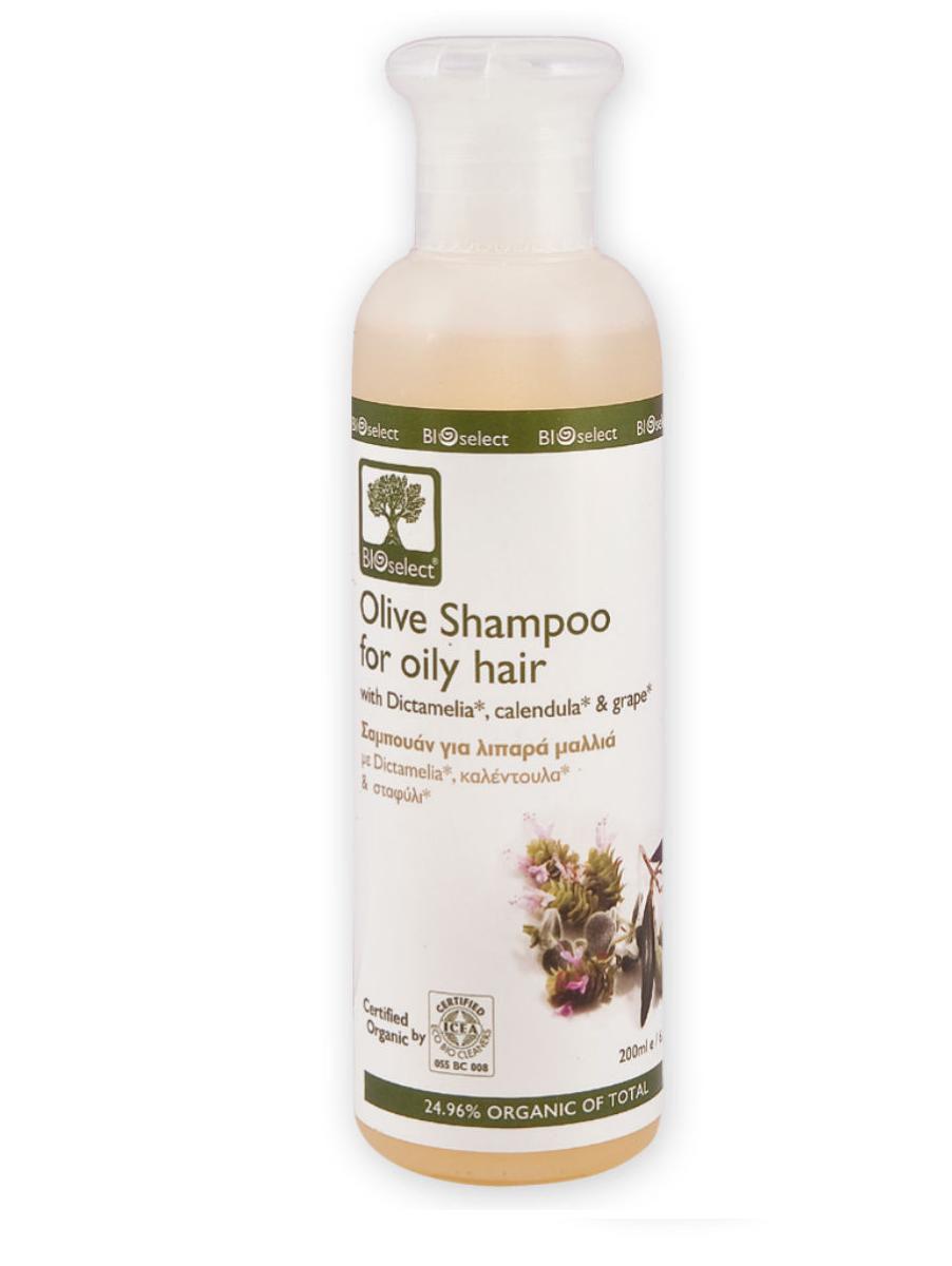 BIOselect Шампунь для жирных волос, 200 мл5200306431149Биоразлагаемые моющие и очищающие компоненты шампуня (без примеси лаурилсульфат натрия (SLS), он же SLES), не вызывают раздражение кожи. Диктамелия увлажняет и укрепляет кожу головы. Вода шалфея, экстракт винограда и календулы способствуют, в свою очередь, предотвращению чрезмерного вырабатываемого кожного сала и защищают волосы, обладая антибактериальными и антиоксидантными свойствами.