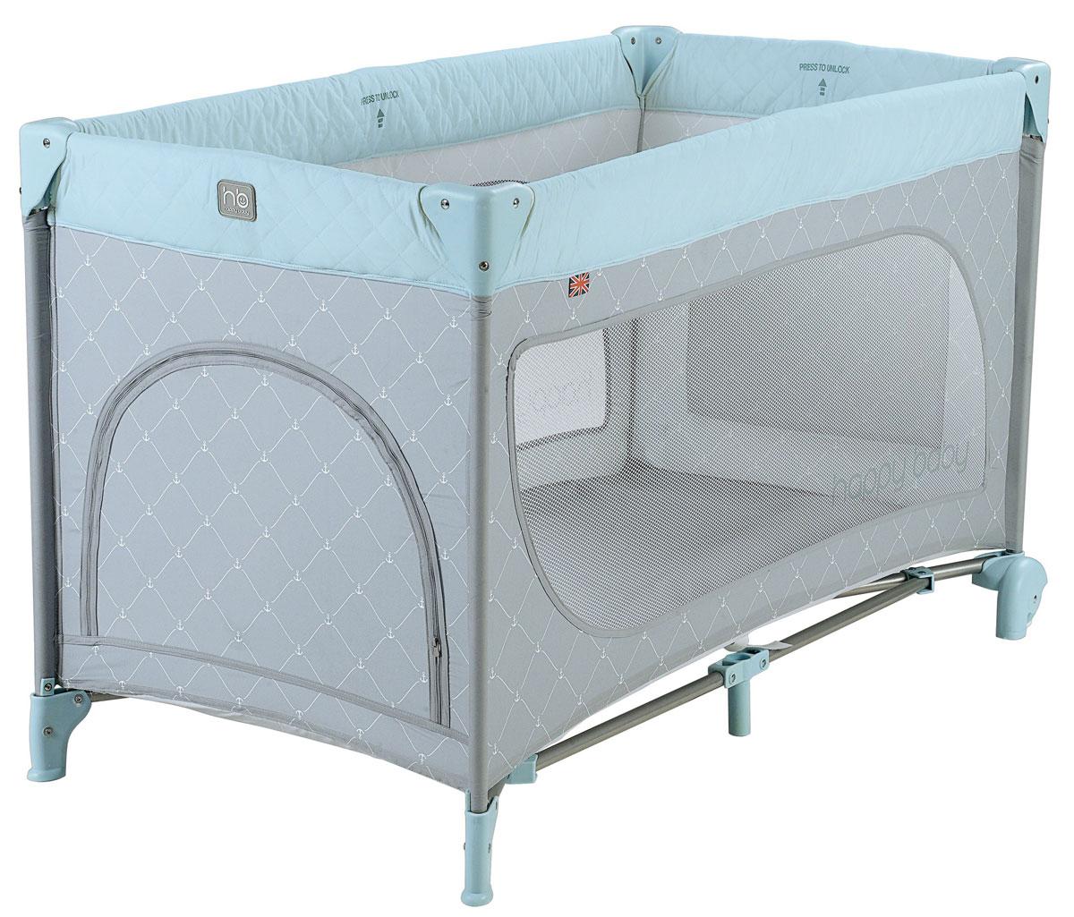 Happy Baby Кровать-манеж Martin Gray