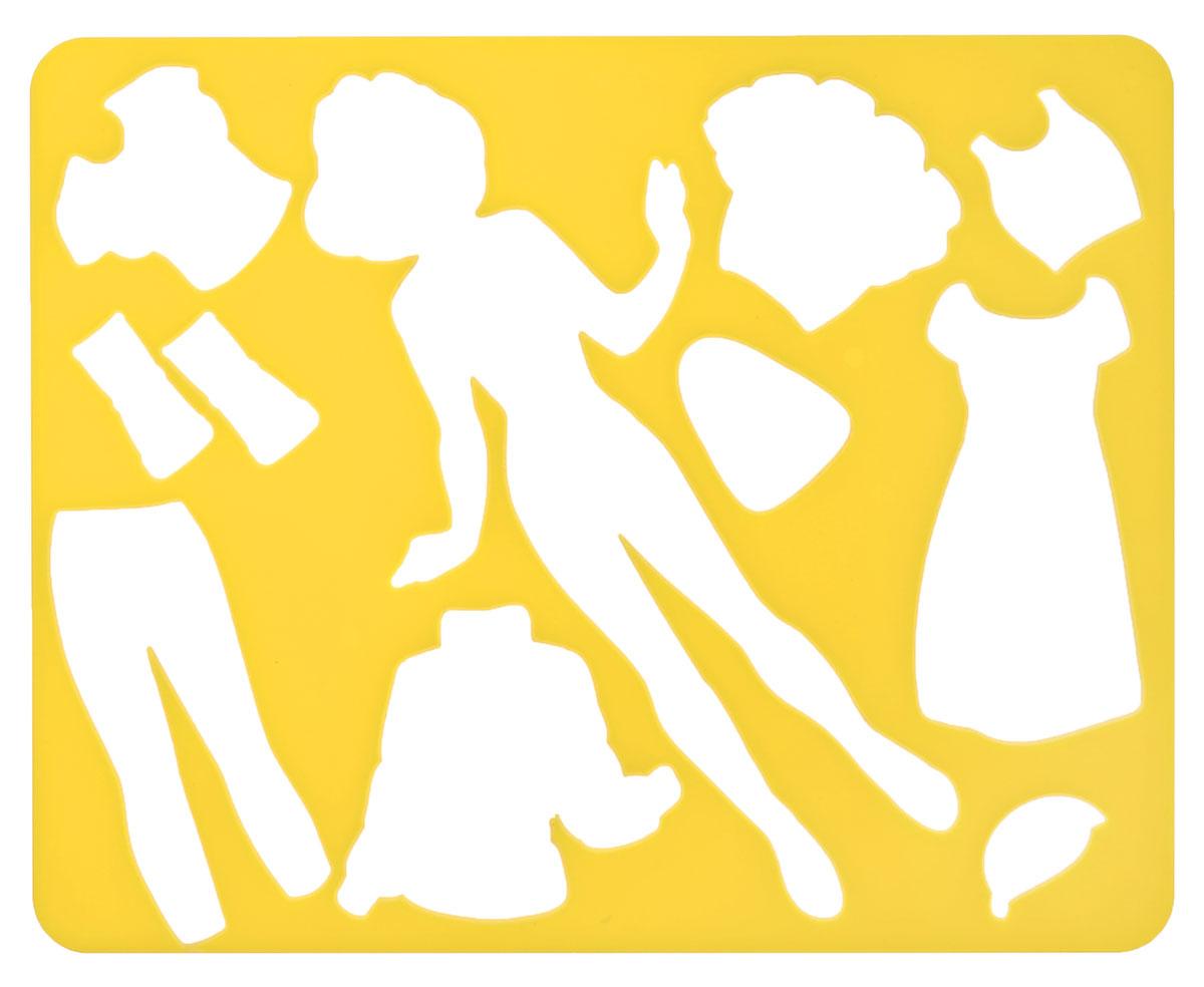 Луч Трафарет прорезной Катин гардероб цвет желтый19091_желтыйТрафарет фигурный Луч Катин гардероб, выполненный из безопасного пластика, предназначен для детского творчества. При помощи этого трафарета ребенок может нарисовать и вырезать бумажную куколку Катю и целый гардероб одежды для нее. Трафарет можно использовать для рисования отдельных персонажей и композиций, а также для изготовления аппликаций. Трафареты предназначены для развития у детей мелкой моторики и зрительно- двигательной координации, навыков художественной композиции и зрительного восприятия.