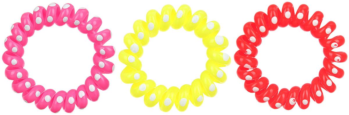 Резинка-браслет для волос Mitya Veselkov, цвет: мультиколор, 3 шт. REZ2