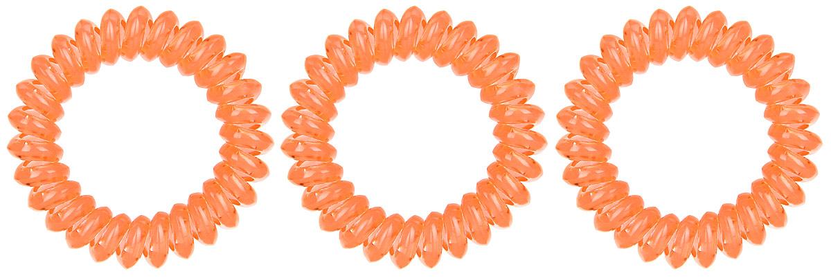 Резинка-браслет для волос Mitya Veselkov, цвет: оранжевый, 3 шт. REZ1REZ1-ORAЯркие резинки-браслеты Mitya Veselkov выполнены из качественного ПВХ. Столь необычная форма резинок дает множество преимуществ. Резинка не оставляет заломов на волосах. При длительном ношении, снимая ее, вы не почувствуете усталость волос. Оригинально смотрится на волосах. Отлично сохраняет свою форму и надежно фиксирует прическу. Не мокнет. Не травмирует волосы. В отличие от обычных резинок, нет трения, зажимов отдельных волосков или прядей. Также их можно использовать как стильные браслеты.