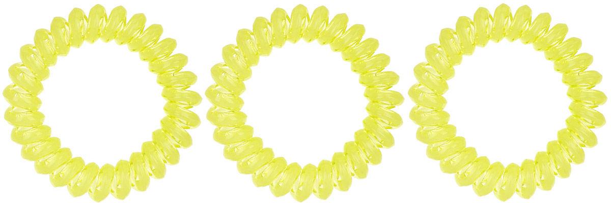 Резинка-браслет для волос Mitya Veselkov, цвет: желтый, 3 шт. REZ1REZ1-YELЯркие резинки-браслеты Mitya Veselkov выполнены из качественного ПВХ. Столь необычная форма резинок дает множество преимуществ. Резинка не оставляет заломов на волосах. При длительном ношении, снимая ее, вы не почувствуете усталость волос. Оригинально смотрится на волосах. Отлично сохраняет свою форму и надежно фиксирует прическу. Не мокнет. Не травмирует волосы. В отличие от обычных резинок, нет трения, зажимов отдельных волосков или прядей. Также их можно использовать как стильные браслеты.