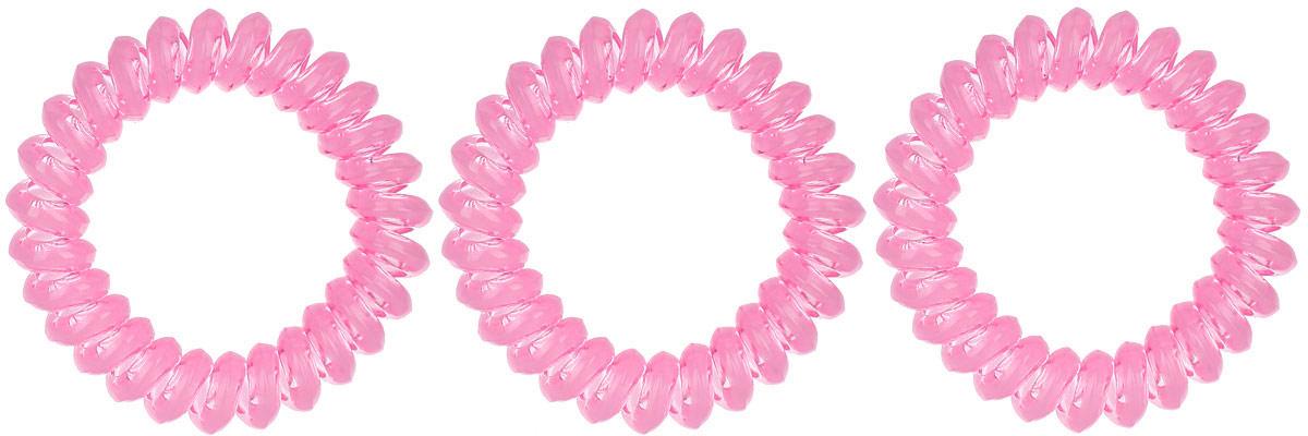 Резинка-браслет для волос Mitya Veselkov, цвет: розовый, 3 шт. REZ1REZ1-ROSЯркие резинки-браслеты Mitya Veselkov выполнены из качественного ПВХ. Столь необычная форма резинок дает множество преимуществ. Резинка не оставляет заломов на волосах. При длительном ношении, снимая ее, вы не почувствуете усталость волос. Оригинально смотрится на волосах. Отлично сохраняет свою форму и надежно фиксирует прическу. Не мокнет. Не травмирует волосы. В отличие от обычных резинок, нет трения, зажимов отдельных волосков или прядей. Также их можно использовать как стильные браслеты.