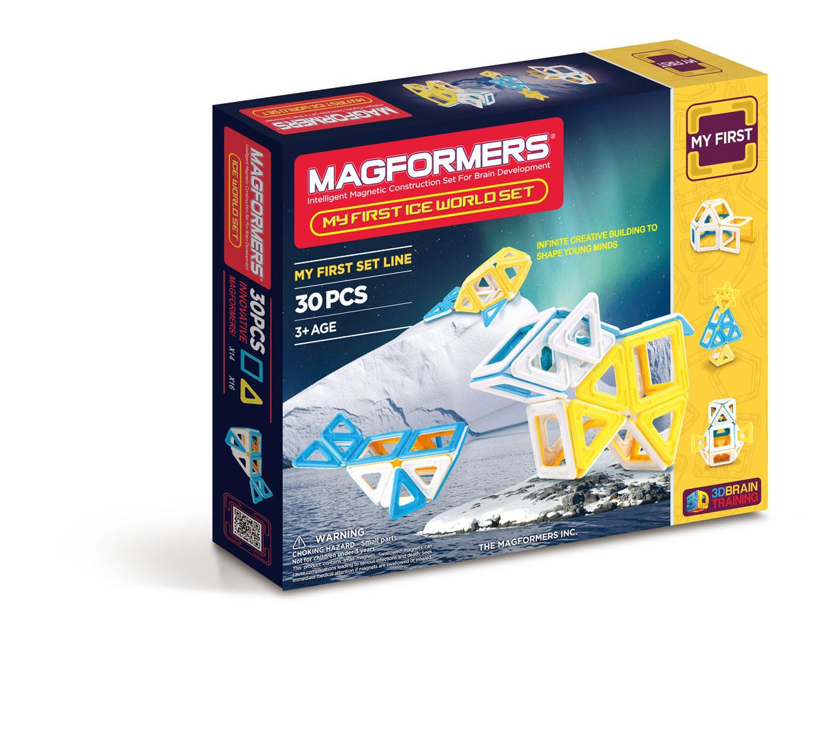 Magformers Магнитный конструктор 63136 Ice World