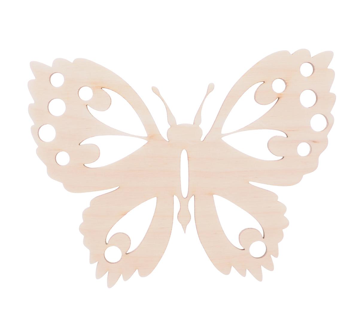 Деревянная заготовка Астра Бабочка, 15 х 11,6 см686493Заготовка Астра Бабочка, изготовленная из дерева, станет хорошей основой для вашего творчества. Заготовку можно украсить бисером, блестками, тесьмой, кружевом - возможности не ограничены. Творческий процесс развивает воображение, учит видеть сказку в обыденных вещах, ведь для нее всегда есть место в нашей жизни! Заготовка Астра Бабочка станет идеальным украшением интерьера вашего дома и подарит вам отличное настроение. Размер заготовки: 15 см х 11,6 см.