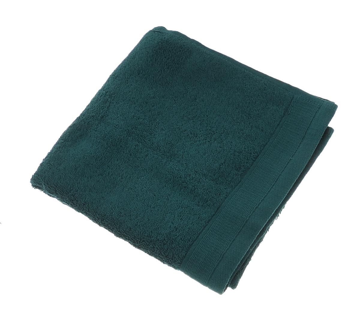 Полотенце махровое Guten Morgen, цвет: темно-зеленый, 50 см х 100 смПМиз-50-100Махровое полотенце Guten Morgen, изготовленное из натурального хлопка, прекрасно впитывает влагу и быстро сохнет. Высокая плотность ткани делает полотенце мягкими, прочными и пушистыми. При соблюдении рекомендаций по уходу изделие сохраняет яркость цвета и не теряет форму даже после многократных стирок. Махровое полотенце Guten Morgen станет достойным выбором для вас и приятным подарком для ваших близких. Мягкость и высокое качество материала, из которого изготовлено полотенце, не оставит вас равнодушными.