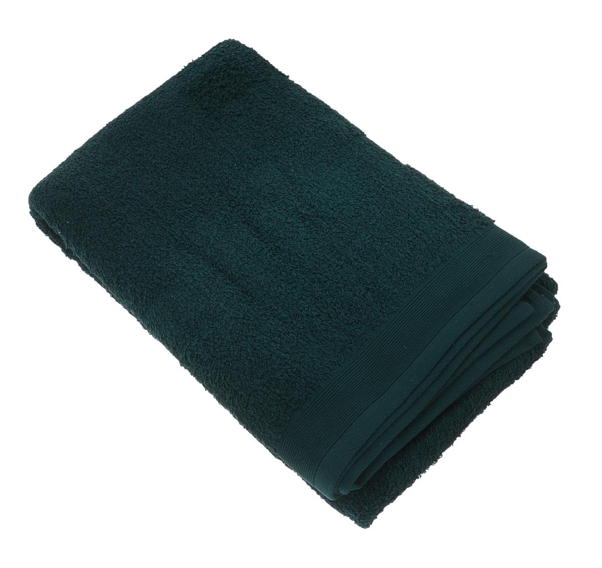 Полотенце махровое Guten Morgen, цвет: темно-зеленый, 100 х 150 смПМи-100-150Махровое полотенце Guten Morgen, изготовленное из натурального хлопка, прекрасно впитывает влагу и быстро сохнет. Высокая плотность ткани делает полотенце мягкими, прочными и пушистыми. При соблюдении рекомендаций по уходу изделие сохраняет яркость цвета и не теряет форму даже после многократных стирок. Махровое полотенце Guten Morgen станет достойным выбором для вас и приятным подарком для ваших близких. Мягкость и высокое качество материала, из которого изготовлено полотенце, не оставит вас равнодушными.