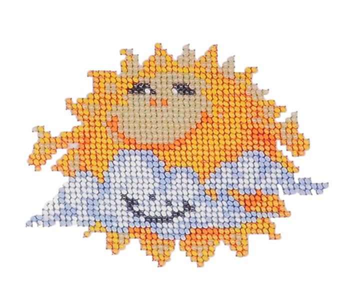 Набор для вышивания бисером Бисеринка Солнышко, 9 х 12 см549629Набор для вышивания Бисеринка Солнышко поможет вам создать свой личный шедевр - красивую картину, вышитую бисером на канве. Вышивание отвлечет вас от повседневных забот и превратится в увлекательное занятие! Работа, сделанная своими руками, создаст особый уют и атмосферу в доме и долгие годы будет радовать вас и ваших близких, а подарок, выполненный собственноручно, станет самым ценным для друзей и знакомых. Набор содержит: - бисер (Чехия) - 7 цветов, - ткань с нанесенным цветным рисунком-схемой, - игла бисерная, - инструкция на русском языке.