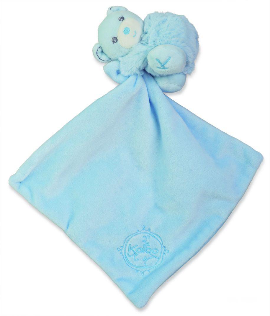 Мишка комфортер голубой, коллекция ЖемчугK962159Уникальный аксессуар игрушка-комфортер Мишка от французского производителя высококачественных игрушек для детей Kaloo позволит малышу спокойно и сладко уснуть, и на долгое время станет его постоянным спутником. Особенность игрушки-комфортера состоит в том, что сначала маме необходимо некоторое время подержать игрушку рядом с собой для того, чтобы она впитала материнский запах. После чего игрушку можно дать и малышу. Младенцу будет очень комфортно засыпать с такой игрушкой, она позволит ему быстро успокоиться и сладко заснуть. Со временем комфортер станет не просто игрушкой для сна, но и любимым защитником от плохих сновидений и детских страхов. Игрушку приятно держать в руках и прижимать к себе.