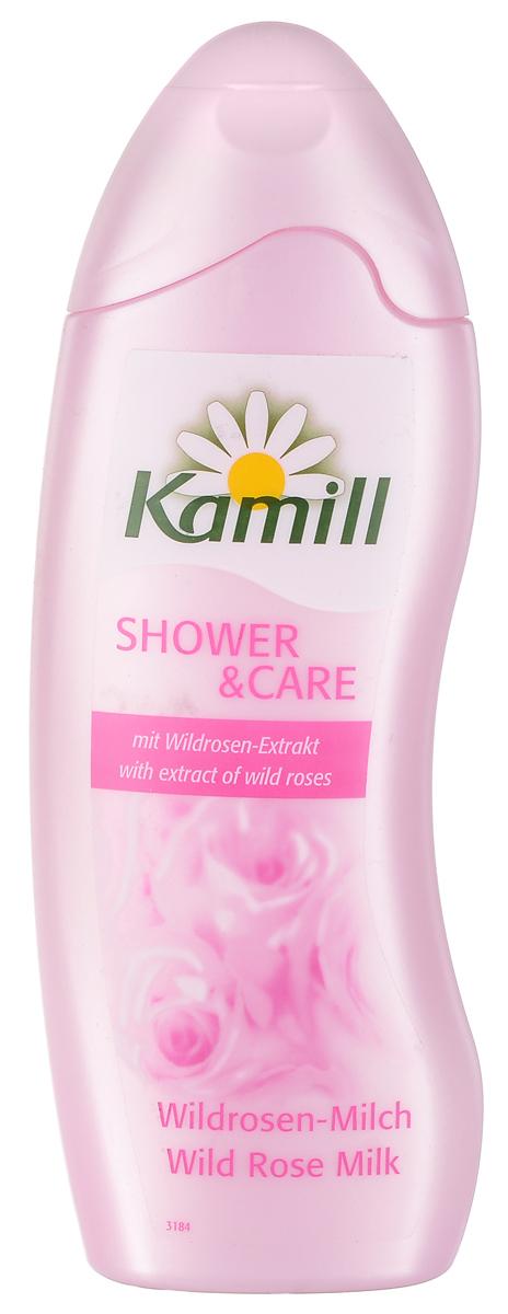 Kamill Гель для душа Дикая роза, 250 мл26950265Гель содержит экстрактные масла розы - мощное регенерирующее средство, которые способствуют повышению эластичности и упругости кожи. В лепестках этого цветка содержится высокий уровень натуральных жирных кислот, которые восстанавливают защитные функции кожи, и, как результат, эффективно борются со старением. Обладает тонким ароматом дикой розы. Прекрасно пенится и легко смывается, удаляет следы антиперспиранта. Не содержит красителей и тестирован дерматологически. Товар сертифицирован.