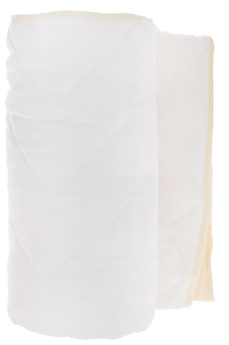Наматрасник OL-Tex Бамбук, цвет: белый, бежевый, 140 см х 200 смОБТ-140_белый, бежевыйНаматрасник OL-Tex Бабмук с наполнителем из бамбука сделает ваш сон еще комфортнее. Чехол выполнен из поликоттона и оформлен декоративной стежкой в виде крупных ромбов, что обеспечивает равномерное распределение тепла. Изделие изготовлено из экологичных природных и нетоксичных материалов, обладает антисептическим эффектом, гигиенично и не вызывает аллергии. Мягкий и легкий, он прекрасно подойдет для жестких кроватей и диванов, делая ваш сон спокойным и приятным. Легко стирается. Бамбуковое волокно - это экологически чистая основа для создания наполнителя нового поколения, имеет естественные антибактериальные и дезодорирующие функции. Обладает прекрасной воздухопроницаемостью и впитывающими свойствами за счет пористой структуры бамбукового волокна. Не вызывает раздражений на коже человека, идеально подходит людям, страдающим аллергией и астмой. Обладает замечательной вентилирующей способностью и отличается высоким показателем чистоты. Природные...