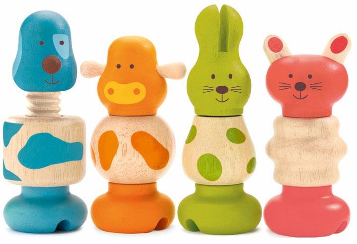 Игровой набор Djeco Животные06304Игровой набор Djeco Животные позволит весело и полезно провести время. Во время игры ребенок познакомится с основными цветами, научиться различать фигуры, форму и цвет, тренировать логическое мышление и мелкую моторику пальчиков рук.