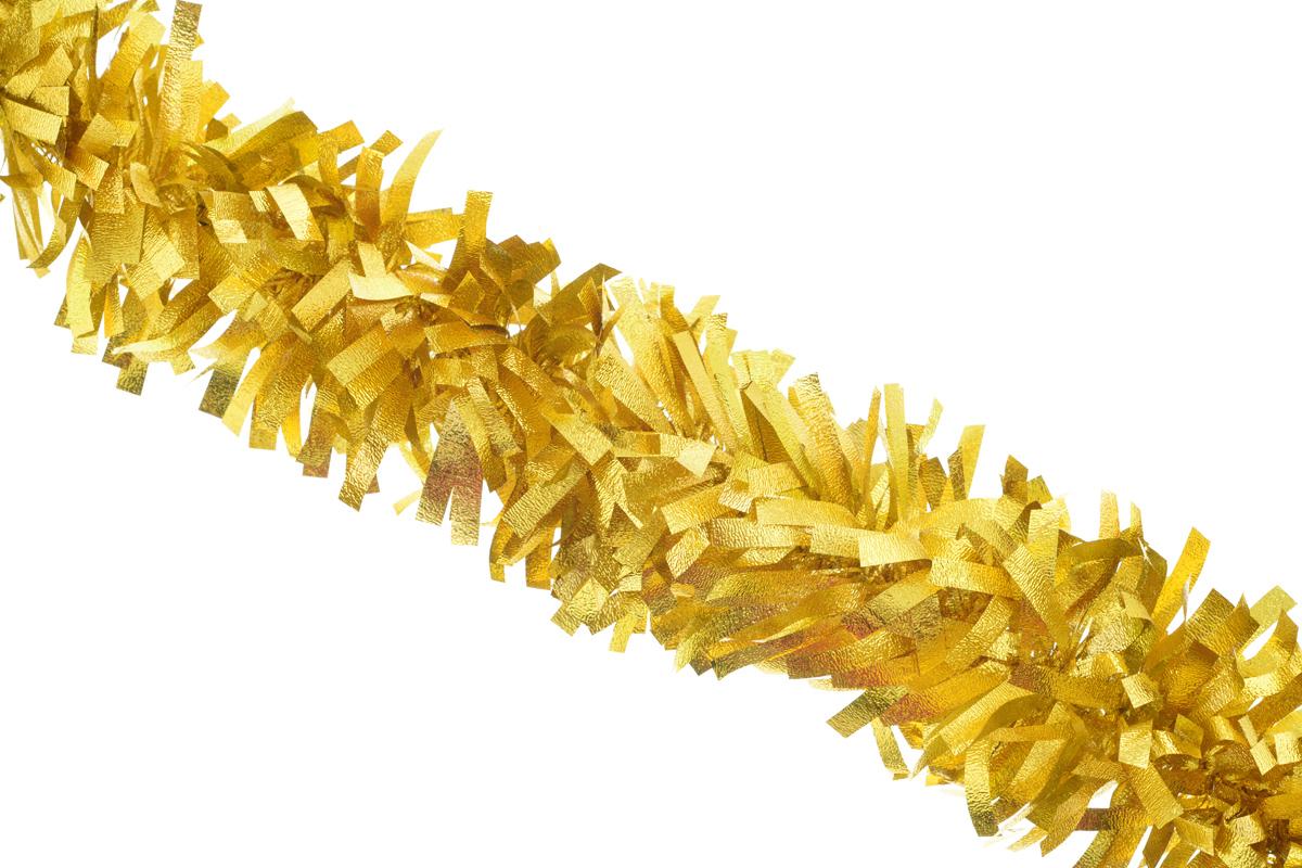 Мишура новогодняя Sima-land, цвет: желтый, диаметр 8 см, длина 200 см. 702587702587_желтыйНовогодняя мишура Sima-land, выполненная из матовой фольги, поможет вам украсить свой дом к предстоящим праздникам. А новогодняя елка с таким украшением станет еще наряднее. Мишура армирована, то есть имеет проволоку внутри и способна сохранять приданную ей форму. Новогодней мишурой можно украсить все, что угодно - елку, квартиру, дачу, офис - как внутри, так и снаружи. Можно сложить новогодние поздравления, буквы и цифры, мишурой можно украсить и дополнить гирлянды, можно выделить дверные колонны, оплести дверные проемы. Коллекция декоративных украшений из серии Зимнее волшебство принесет в ваш дом ни с чем несравнимое ощущение праздника! Создайте в своем доме атмосферу тепла, веселья и радости, украшая его всей семьей.
