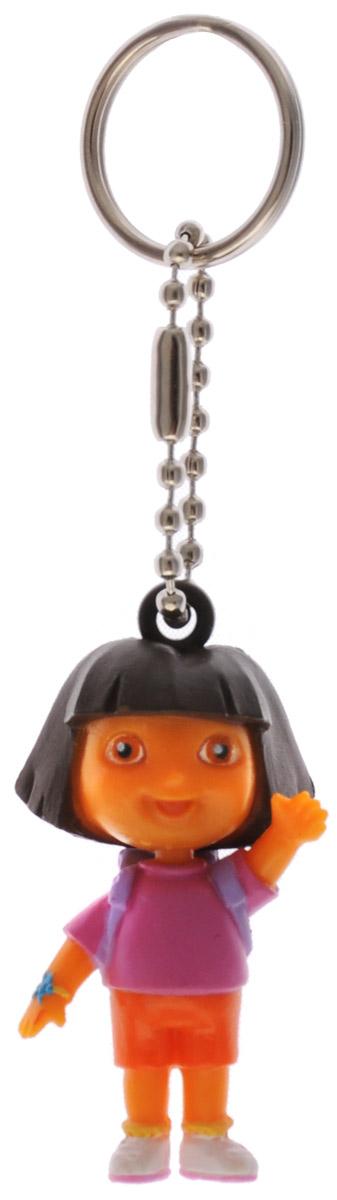 Amscan Брелок Даша-путешественница1507-0993Очаровательный брелок Amscan Даша-путешественница станет незаменимым помощником для хранения ключе или стильным аксессуаром для рюкзака. Брелок украшен фигуркой Даши-путешественницы из одноименного мультфильма. Фигурка выполнена из прочного безопасного пластика. К фигурке крепится цепочка с металлическим кольцом, с помощью которого ее можно прикрепить к сумке, рюкзачку или связке ключей.