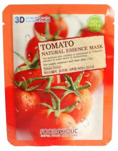 FoodaHolic Тканевая 3D маска с натуральным экстрактом томата Mash Sheet, 23 мл620795Тканевая 3D маска с натуральным экстрактом томата, 23гр, Маска на тканевой основе обогащена пропиткой с эссенцией, отличающейся большим содержанием активных ингредиентов и обогащена экстрактом томата. Содержит большое кол-во витаминов и увлажняет эпителий при сильной сухости, восстанавливая эластику и придавая сияние.