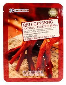 FoodaHolic Тканевая 3D маска с натуральным экстрактом красного женьшеня Mash Sheet, 23 мл620672Тканевая 3D маска с натуральным экстрактом красного женьшеня, 23гр Маска на тканевой основе обогащена пропиткой с эссенцией, отличающейся большим содержанием активных ингредиентов и обогащена экстрактом красного женьшеня. Ее активные ингредиенты проникают очень глубоко в поры, проводя питательные вещества.