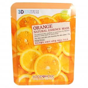 FoodaHolic Тканевая 3D маска с натуральным экстрактом апельсина Mash Sheet, 23 мл620689Тканевая 3D маска с натуральным экстрактом апельсина, 23гр, Маска на тканевой основе обогащена пропиткой с эссенцией, отличающейся большим содержанием активных ингредиентов и обогащена экстрактом апельсина.Он обогащен витаминами и множеством минералов, эффективен при кожных воспалениях, стимулирует процесс обновления клеточек.